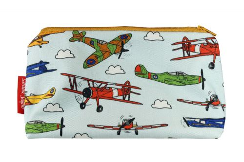 Selina-Jayne Vintage Airplanes Limited Edition Designer Cosmetic Bag